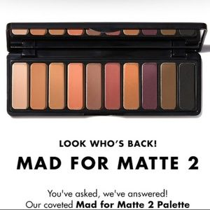 NEW Mad for Matte 2 Eyeshadow Palette